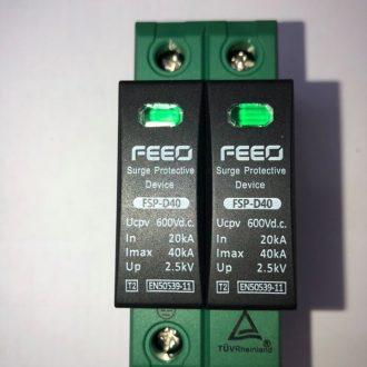 Chống sét DC 600V 2P FSP-D40 Feeo