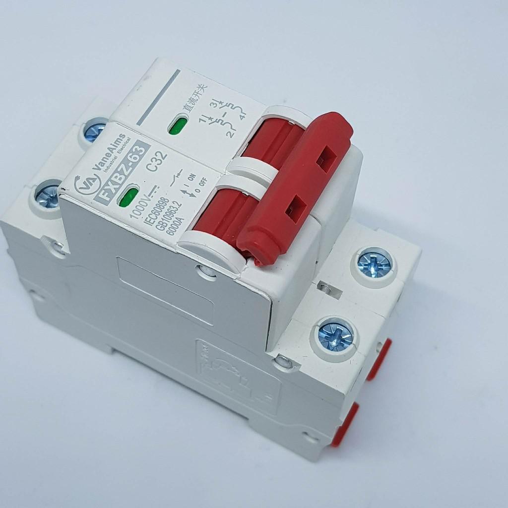 CB 2 CỰC 1000VDC 32A FXBZ-63 32A