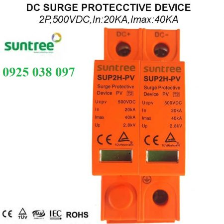 chống sét dc 500VDC Suntree