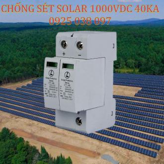Chống sét DC Solar 1000VDC 2P