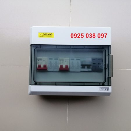 tủ solar 5kW 1 pha
