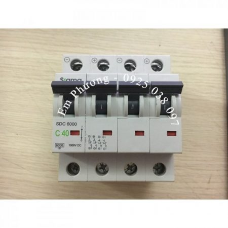 MCB 1000VDC 32A SIGMA