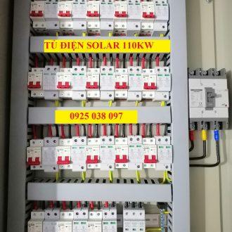 tủ điện năng lượng mặt trời 110kW 18 strings, tủ combinerbox 18 string