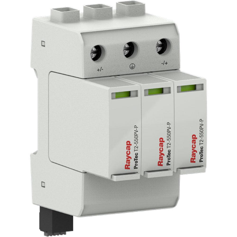 chong-set-dc-1000v-T2-550PV-P-Raycaps
