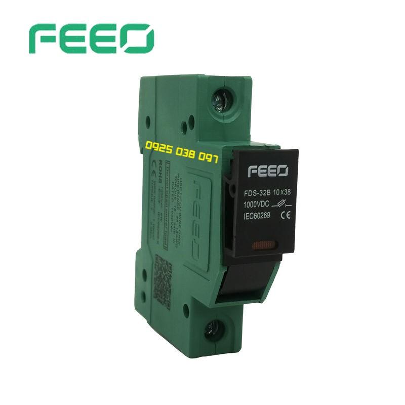 Cầu chì Feeo FDS-32B 10×38 1000VDC 32A